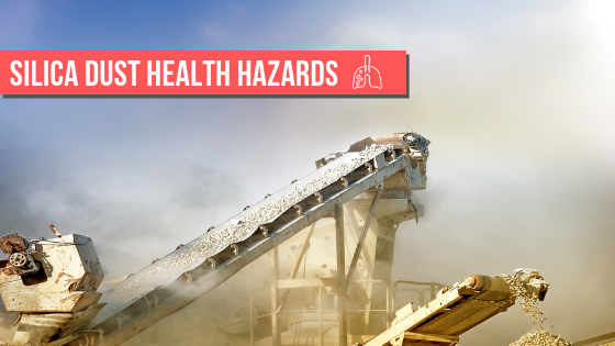 Silica dust health hazards