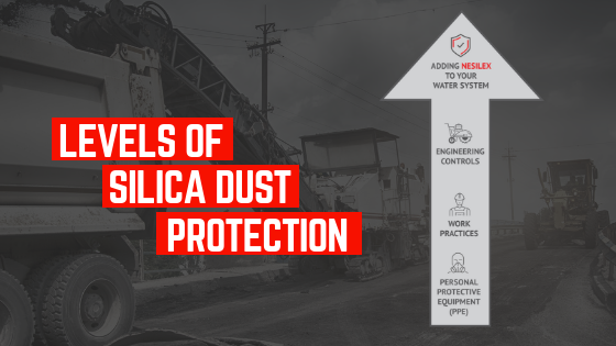 levels of silica dust protection