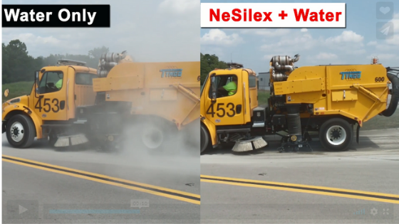Visible Dust Reduction with NeSilex