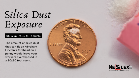 What does a penny have to do with silica dust?